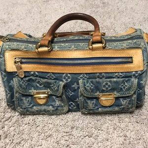 Louis Vuitton Denim Neo Speedy bag.